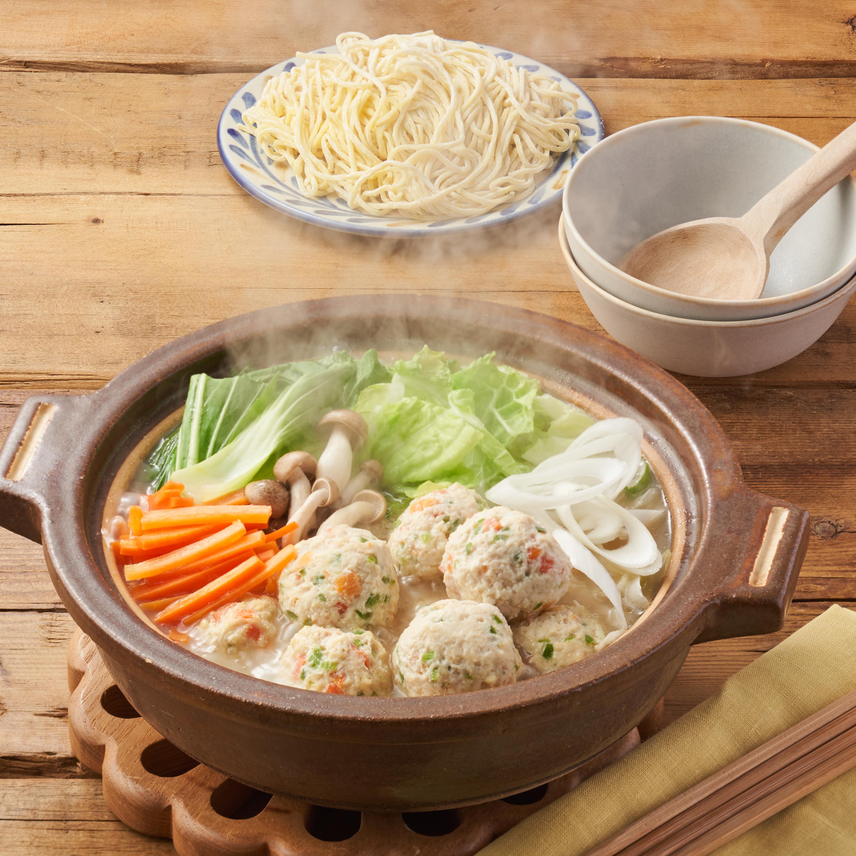 Kit Oisix 小倉優子のチーズ入りお野菜鶏団子白湯鍋