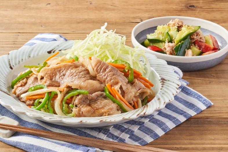 小倉優子の野菜たっぷり生姜焼き