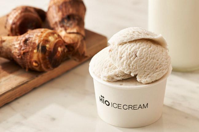 里芋「長兵衛」アイスクリーム画像
